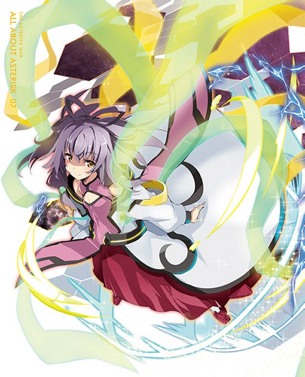 Final 'Asterisk War' Second Season Japanese Anime DVD/BD Cover.