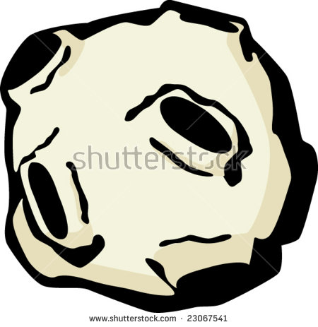 Asteroid Stock Vector 1365953.