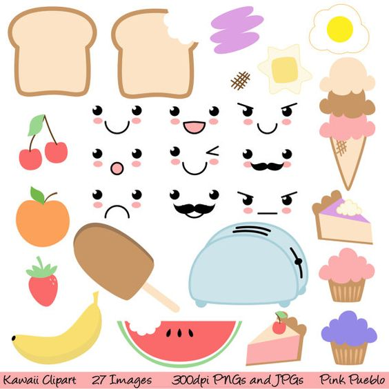Kawaii, Clip art and Commercial on Pinterest.