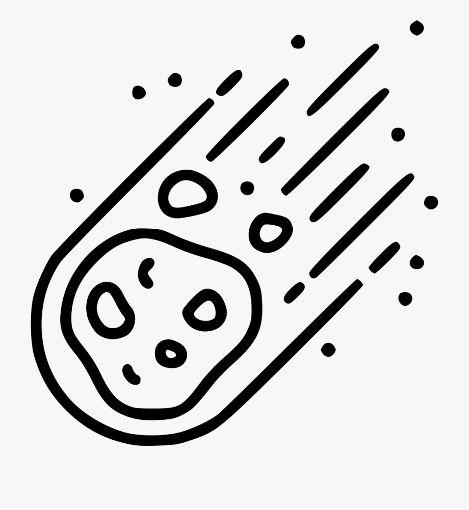 Asteroid Clipart Svg.