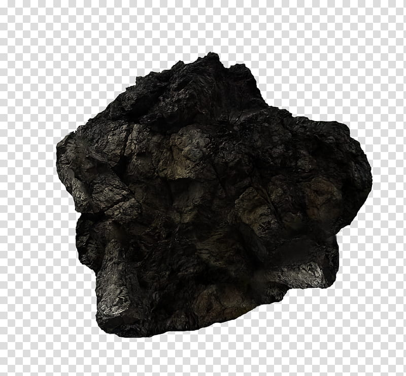 Asteroid , brown rock transparent background PNG clipart.