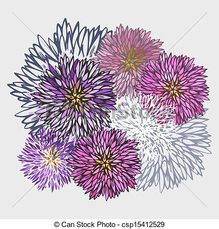 Aster Illustrations and Clipart. 19,554 Aster royalty free.