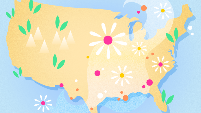 The Best & Worst Places for Allergy Sufferers to Live.