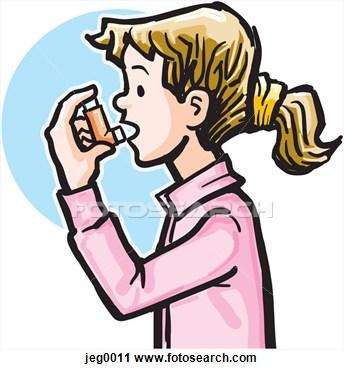 Asthma Clipart.