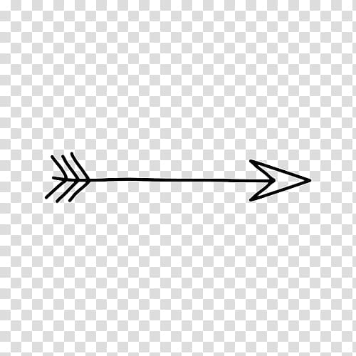 More black arrow transparent background PNG clipart.
