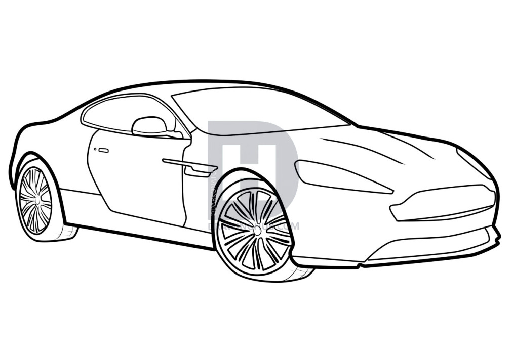 Collection of Aston martin clipart.