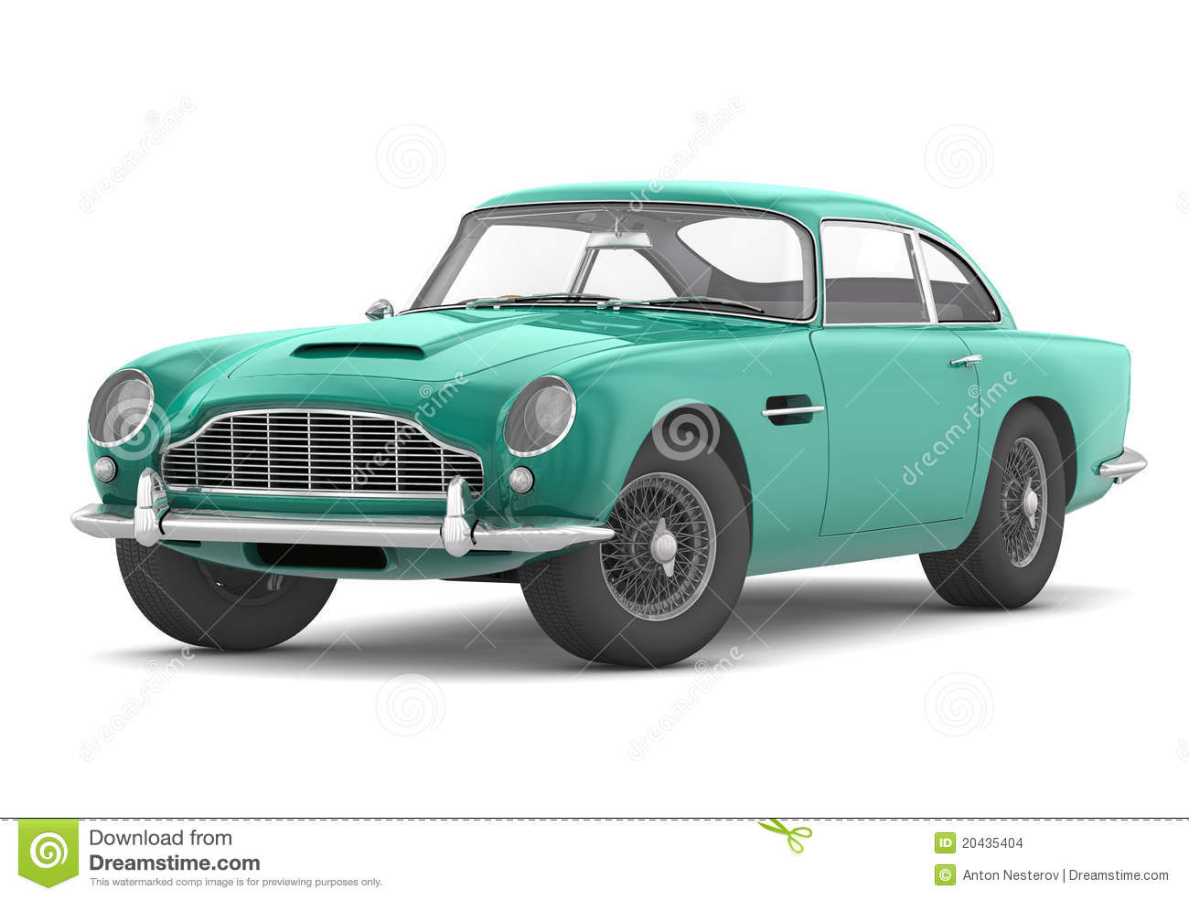 Aston Martin DB5 Vantage (1964) Stock Images.