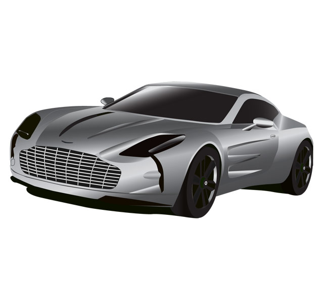 Aston martin clipart hd.