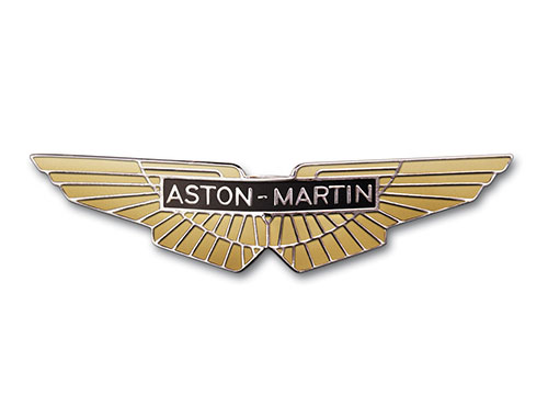 Aston Martin logo evolution.