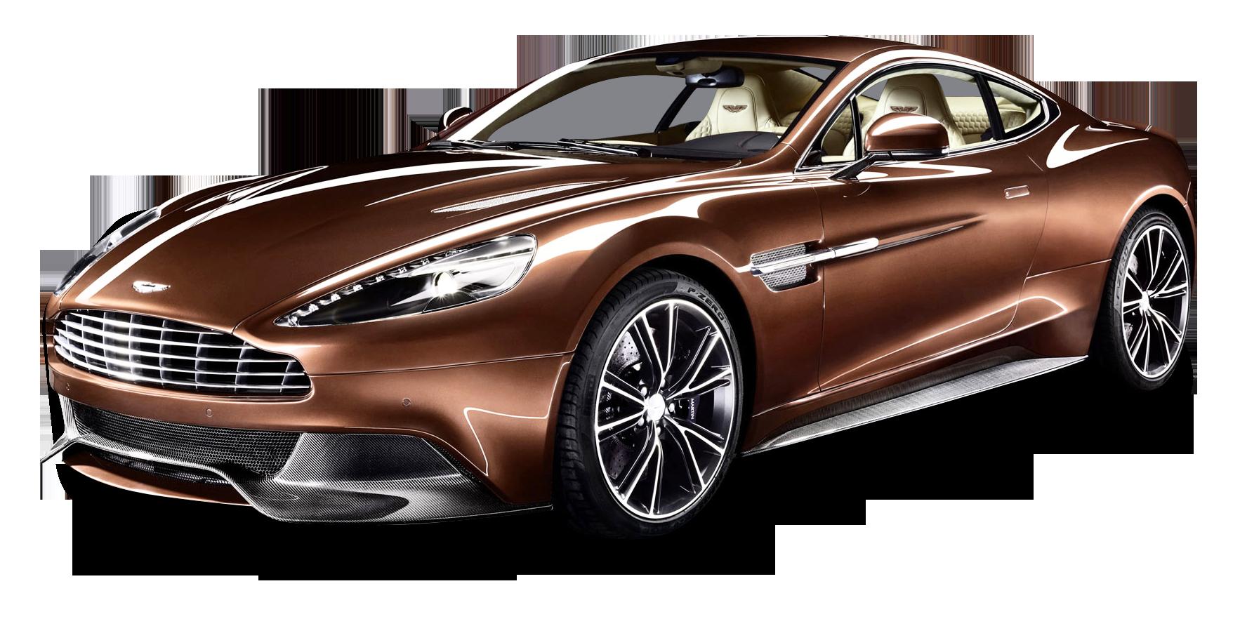 Aston Martin Vanquish Car PNG Image.