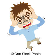 Astonished Clipart.