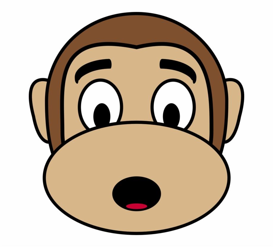 Astonished, Face, Monkey, Shocked.
