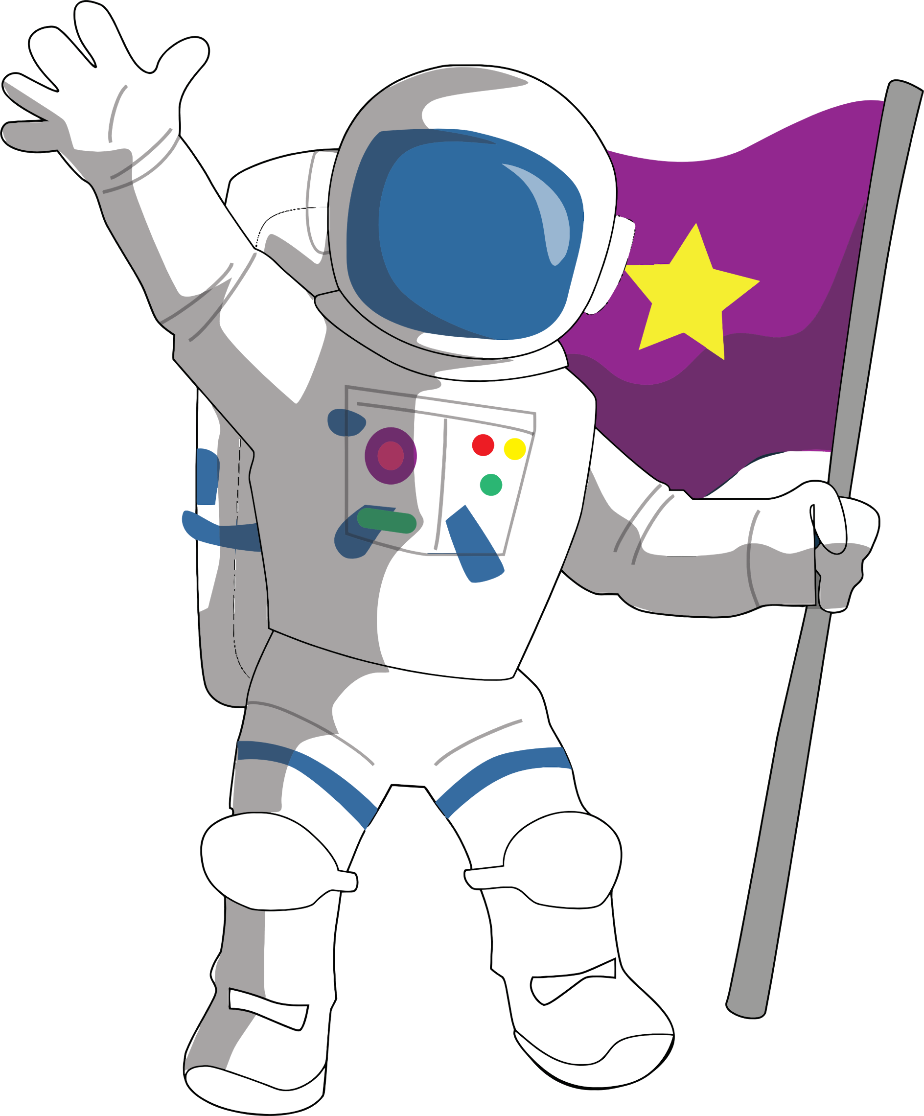 Astronaut clipart png 9 » Clipart Station.