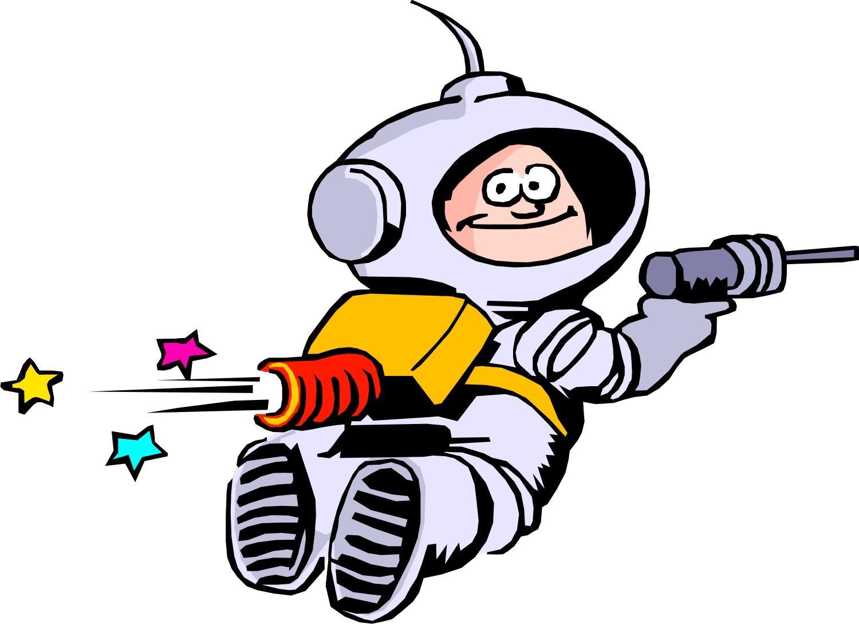 Astronauts Clipart.