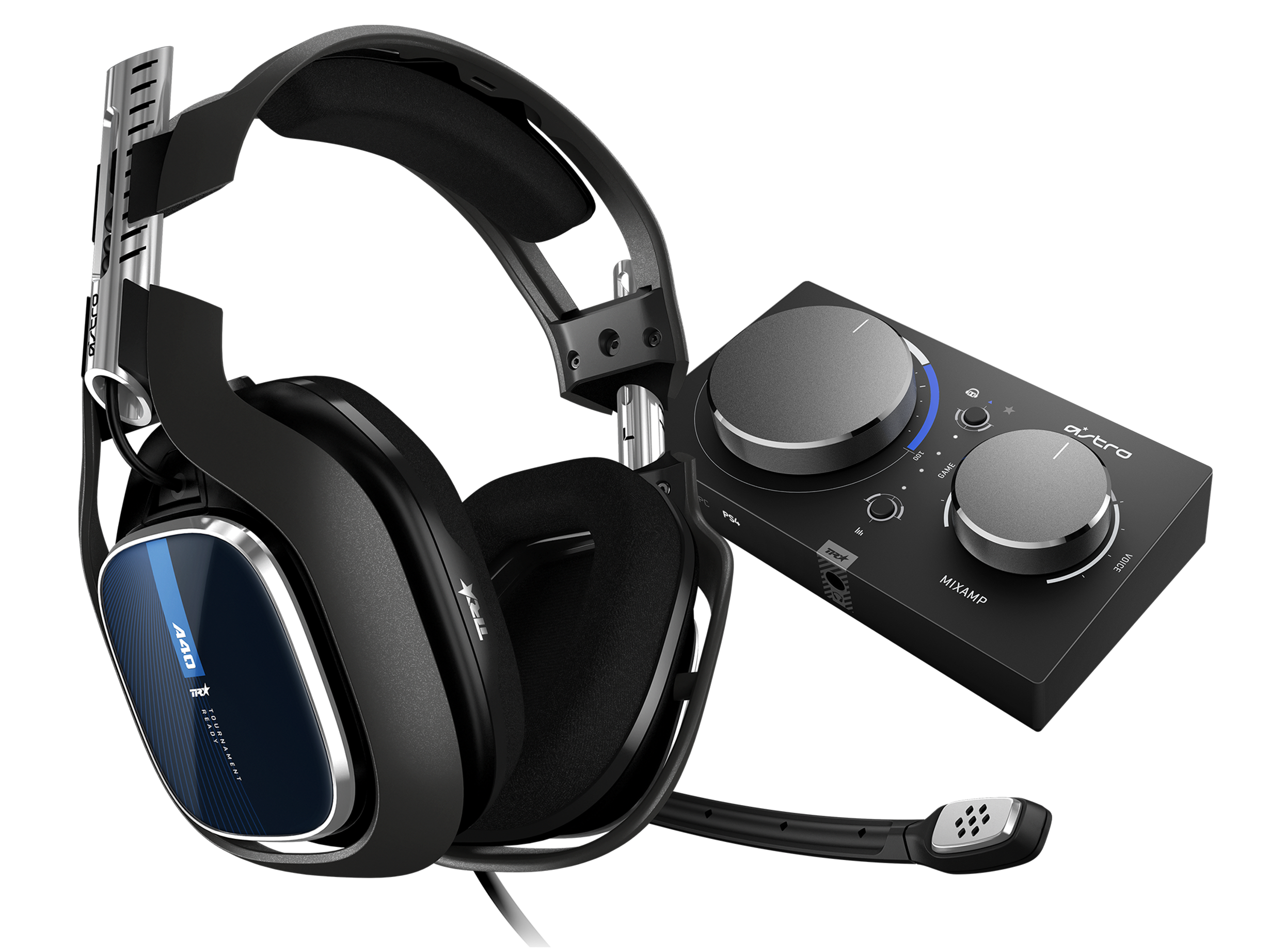 A40 TR PS4 Headset with MixAmp Pro TR.