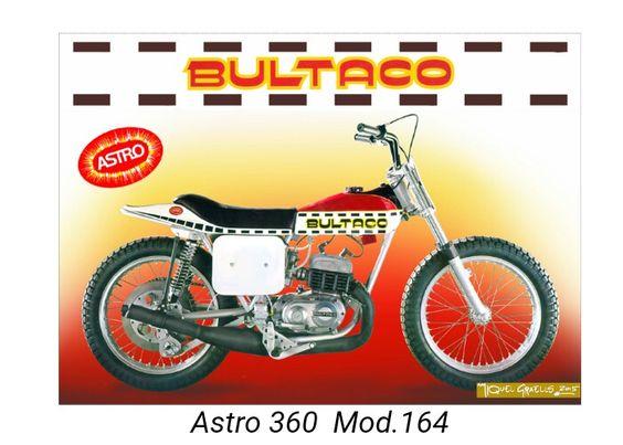 Astro 250cc md 163 Año 1976.