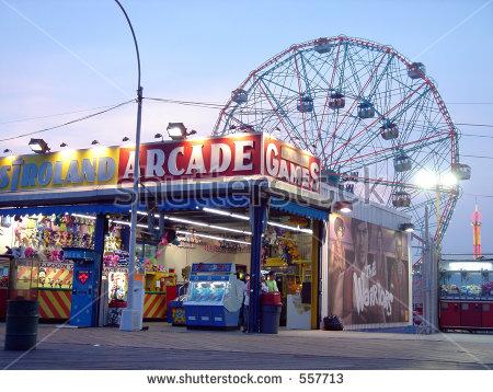 Coney Island.