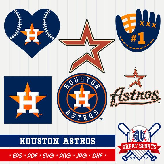 Houston Astros SVG, Astros Clipart, Houston Astros DXF.