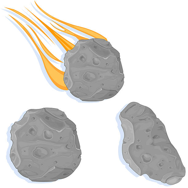 Asteroids and Meteors » Clipart Station.