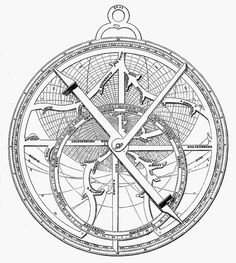 Astrolabe clipart #6