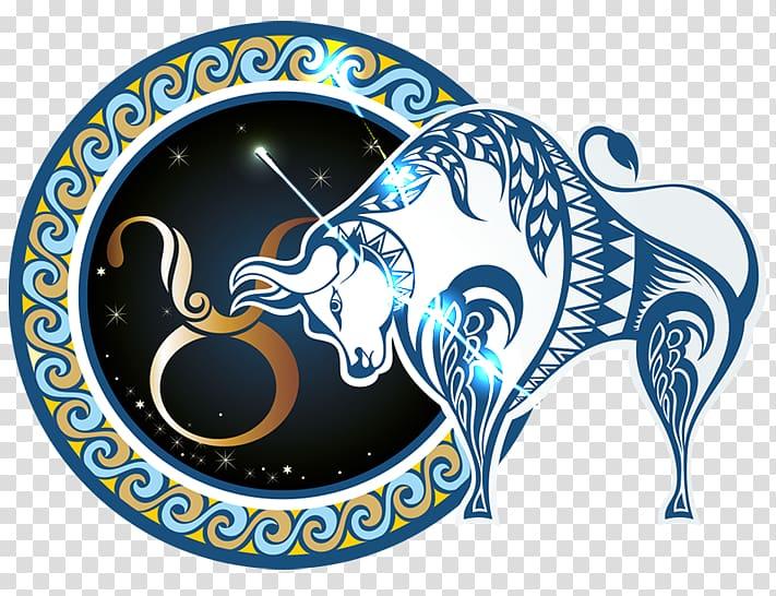 Taurus Zodiac sign illustration, Astrological sign Pisces.