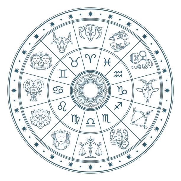 Best Astrology Illustrations, Royalty.