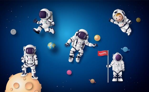 Astronaut Vectors, Photos and PSD files.