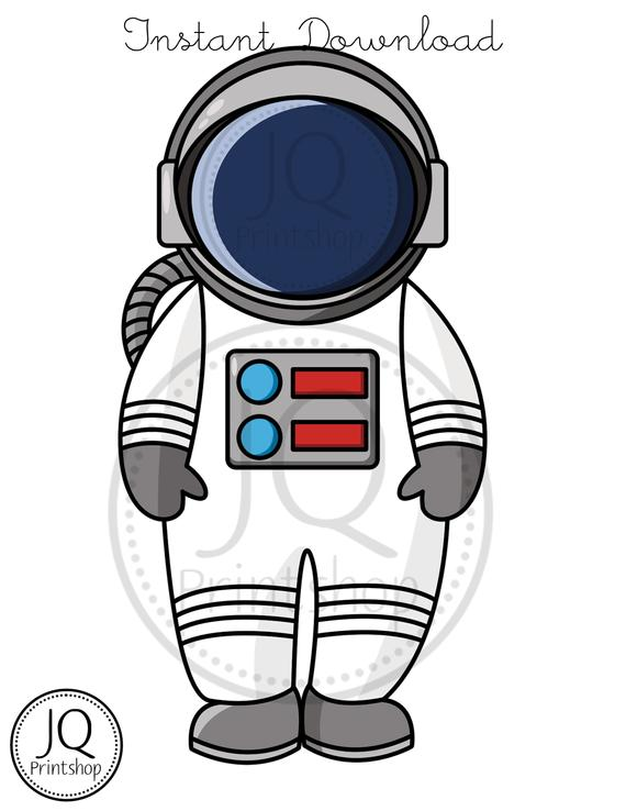 Printable Astronaut, Printable Rocket, Space Theme Birthday Decoration,  Outer Space Party, Solar System Party, Space Birthday Banner.