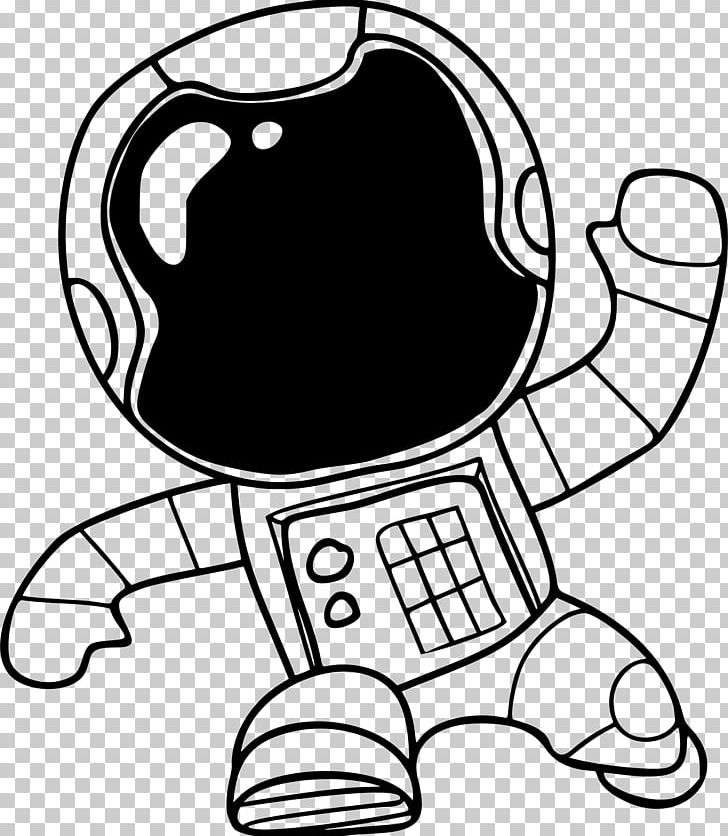 Drawing Astronaut PNG, Clipart, Area, Artwork, Black, Black.