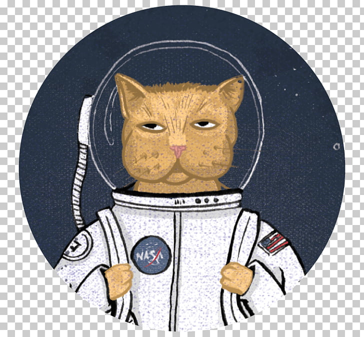 Whiskers Cat Etsy Astronaut, Cat PNG clipart.