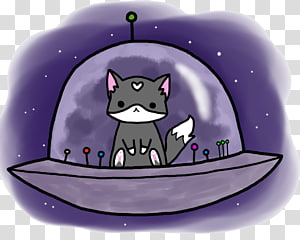Space Cat PNG clipart images free download.