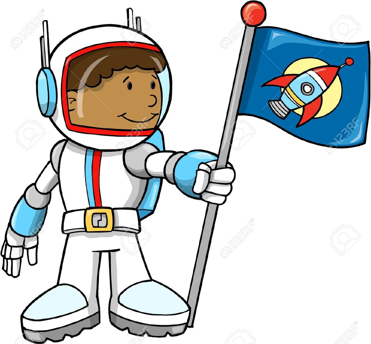 Astronaut clipart - Clipground