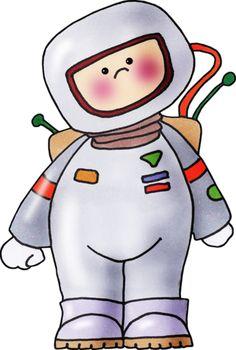 Classroom astronaut clipart.