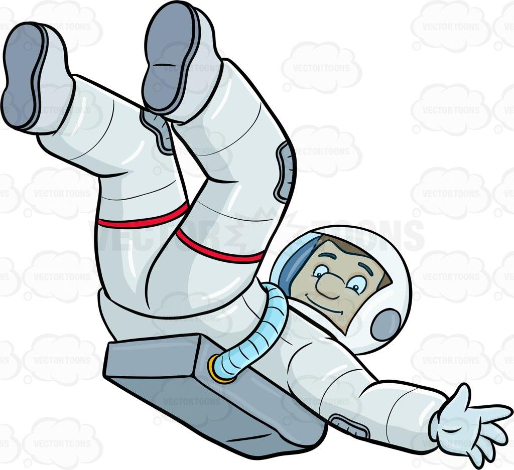 1413 Astronaut free clipart.