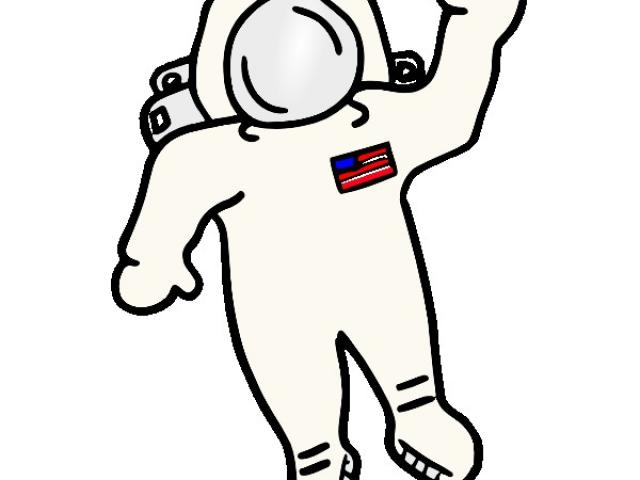 Astronaut clipart easy, Astronaut easy Transparent FREE for.