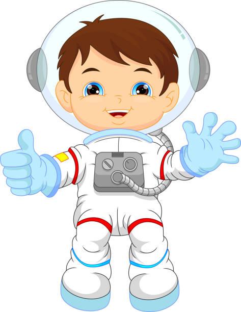 Best Little Astronaut Illustrations, Royalty.