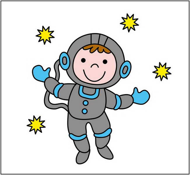 Astronaut clipart for kids clipart clipart ideas wallpaper image #16454.