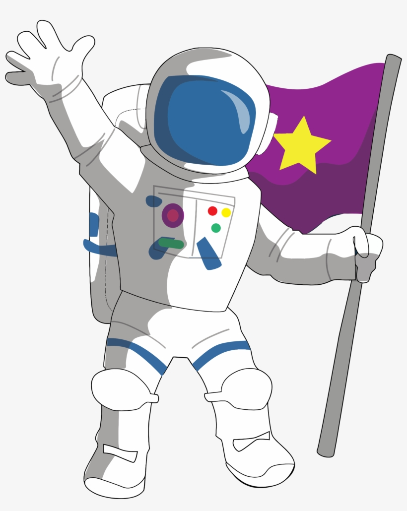 Astronaut Clipart to print.