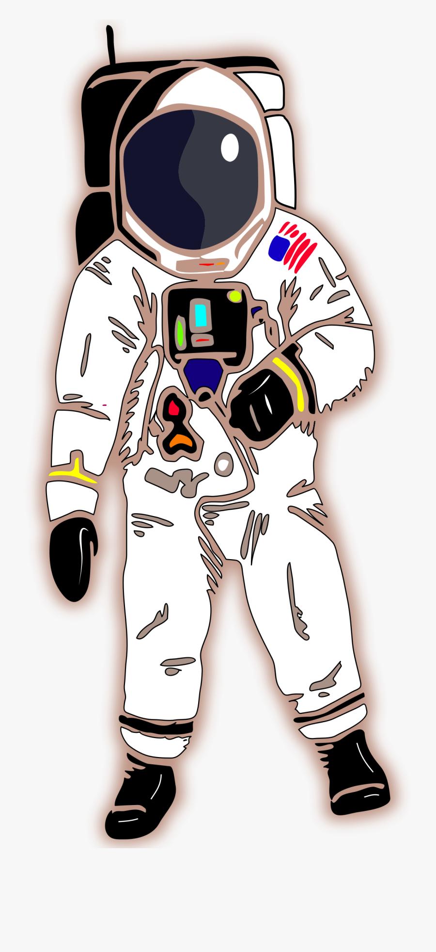Transparent Astronaut Clip Art.