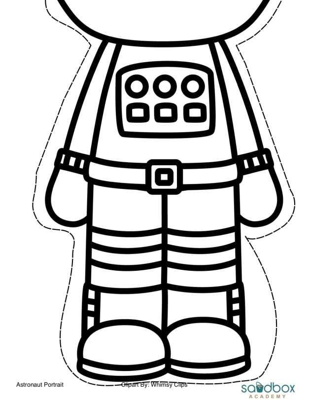 Astronaut Portraits.