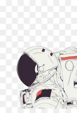 Astronaut Helmet PNG.