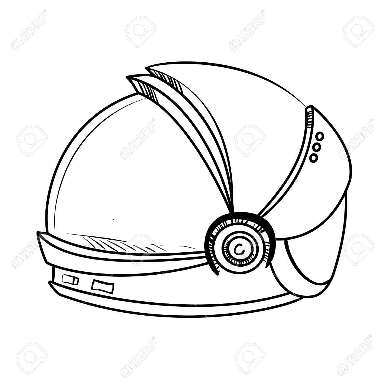 1418 Astronaut free clipart.