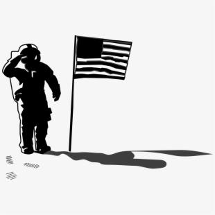 Flag Clipart Astronaut.