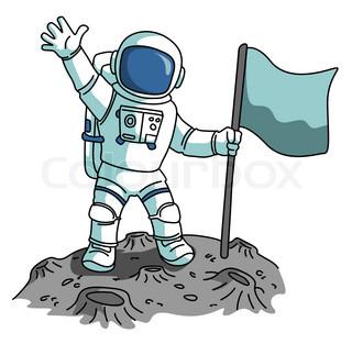 Astronaut Clipart Simple.