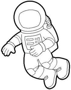 Astronaut Printable Templates.