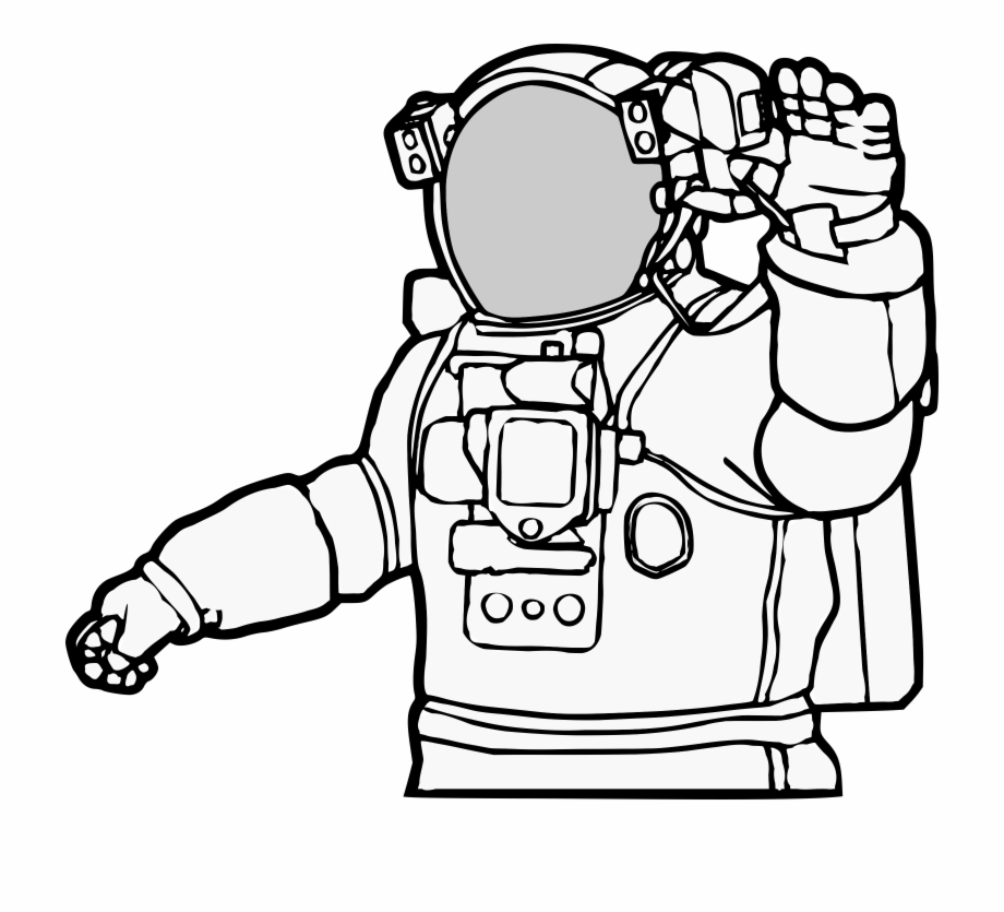 Astronaut Realistic Astronaut Clip Art.