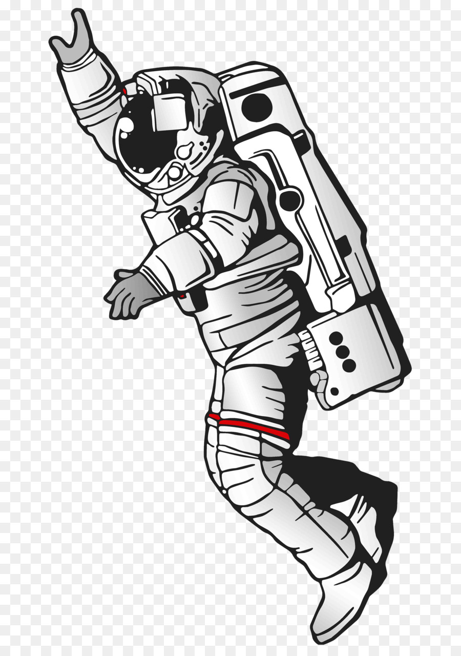 Astronaut Cartoon clipart.
