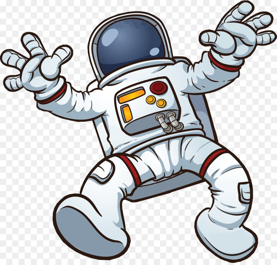 Astronaut Cartoon.