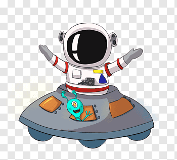 Cartoon Astronaut cutout PNG & clipart images.