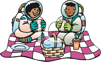 Royalty Free Astronaut Clipart.
